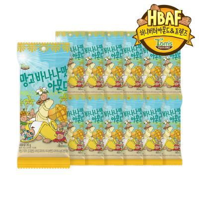 [길림양행] 망고바나나맛 아몬드 30g_12봉