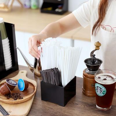 Cafe매장 탕비실 커피스틱 카페빈 스트로우 디스펜서S