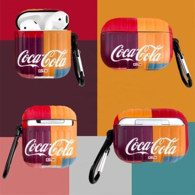 에어팟 1 2 3세대 프로 코카콜라 로고 실리콘 케이스