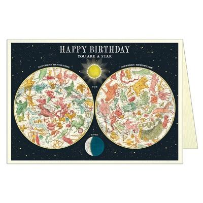 카발리니 생일카드 Constellation
