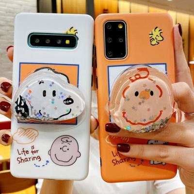 아이폰11 프로 XR XS X 8 아쿠아 그립톡 실리콘케이스