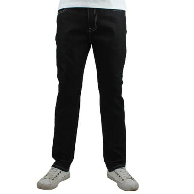 [ARSON] #14042 SLIM STRAIGHT JEANS (BLACK)