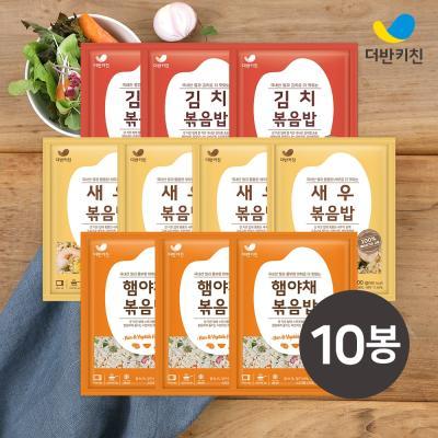 [더반키친]새우4+김치3+햄야채3