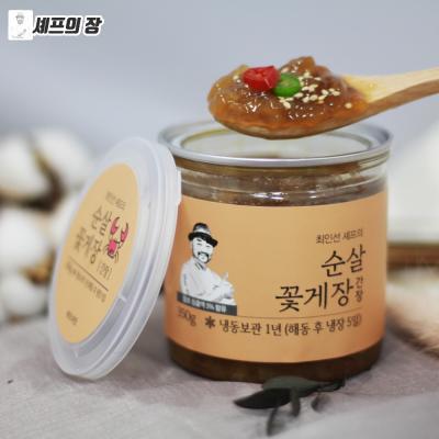 최인선 셰프 순살꽃게장 350g (간장)