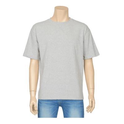남성 여성 여름 데일리 반팔 티셔츠 스티치 스몰 컬러
