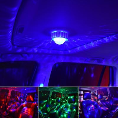 음악소리에 반응하는 충전식 LED 미러볼 디스코 조명