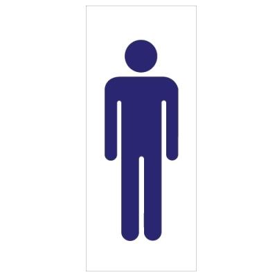 [아트사인] 남자그림표지판 (0304) [개/1] 90505