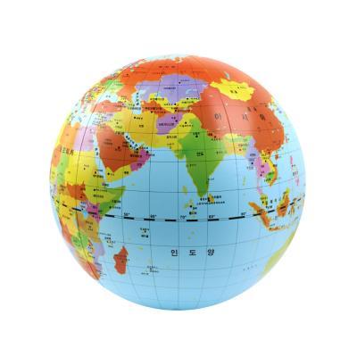 [칼리] 컨트리에어글로브 한글표기 지구본 50cm