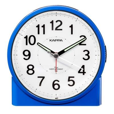 카파 무소음 T864 블루 16곡랜덤 알람탁상시계