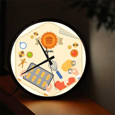nf192-LED시계액자35R_다양한취미생활