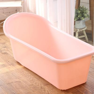쉼표 하나 핑크 반신욕조