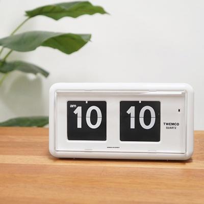 데코앤홈 트웸코 QT-30 인테리어 플립 탁상 벽시계