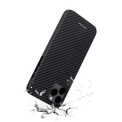 아이폰 12 시리즈 슬림 아라미드 카본 방탄케이스