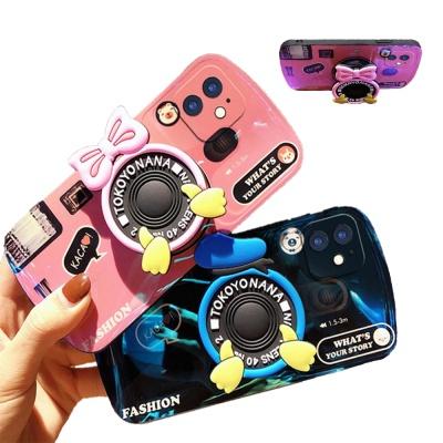 아이폰12 11 pro max xs 8 커플 카메라 그립톡 케이스