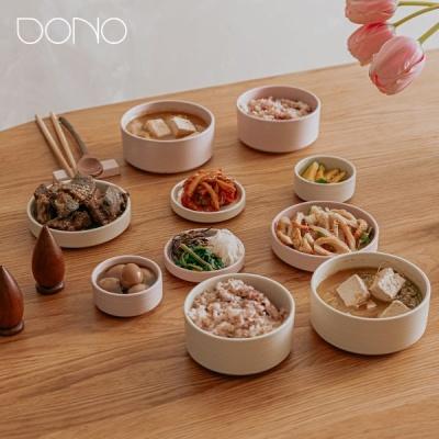 [마이템] 도노 도자기 핑크 바닐라 식기세트 14p, 28p