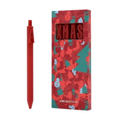 카코 KACO 크리스마스 X-MAS 에디션 젤펜 4종 세트