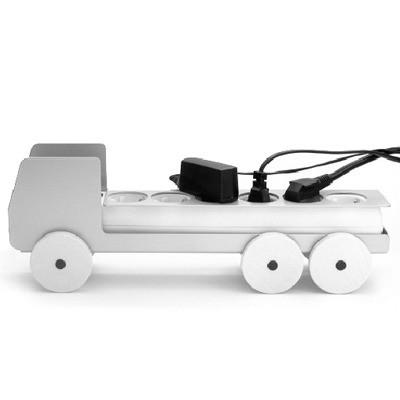 Plug Truck Large Silver