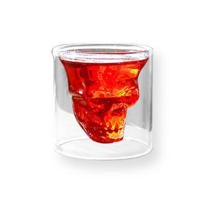 주방 인테리어 소품 해골 샷잔 유리컵 Crystal Skull