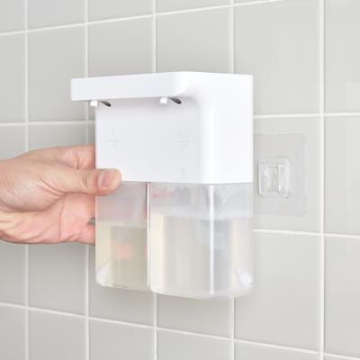 듀얼 화이트 욕실디스펜서 물비누 자동세제 센서형