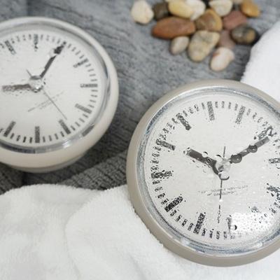 레트로욕실방수시계(2COLOR)_거치대포함