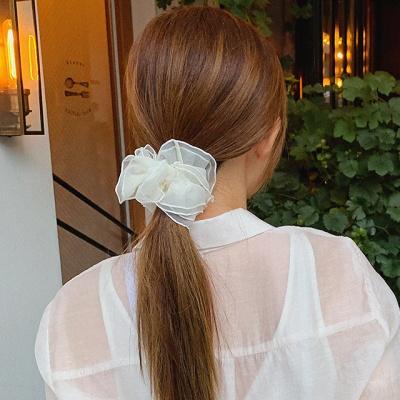 오간자 프릴 곱창 머리끈