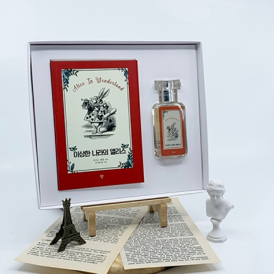 이상한 나라의 앨리스 초판본 미니북+북퍼퓸 선물세트