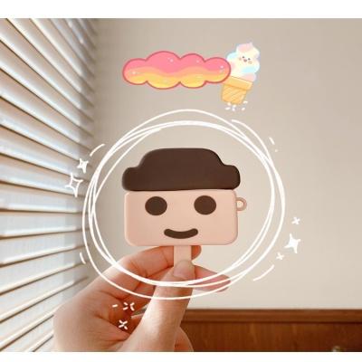 에어팟 프로 1 2 3 아이스크림 하드바 실리콘 케이스