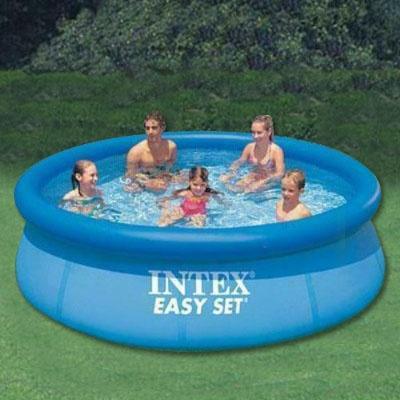 INTEX 에어 가족 풀장(305x76cm) 인텍스 대형풀장