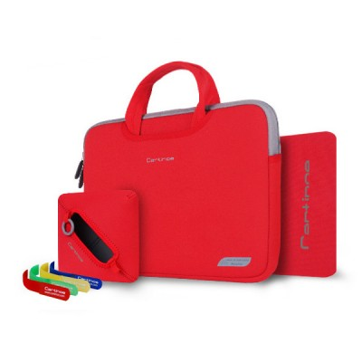 카티노 브레드 13.3인치 노트북 파우치 레드