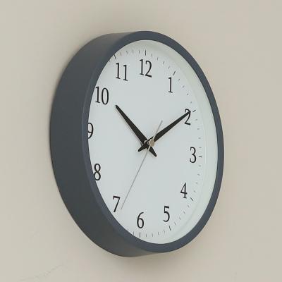 오리엔트 OTM897 그레이 무소음 2IN1 벽탁상겸용 시계