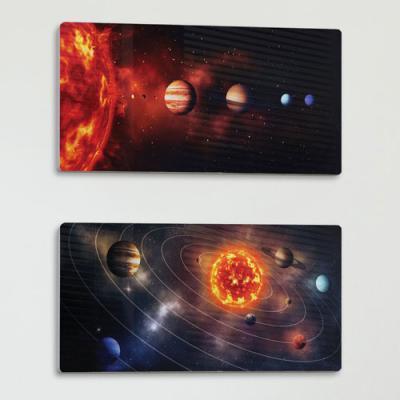bf846-폼아크릴액자38CmX18Cm_태양계행성과궤도