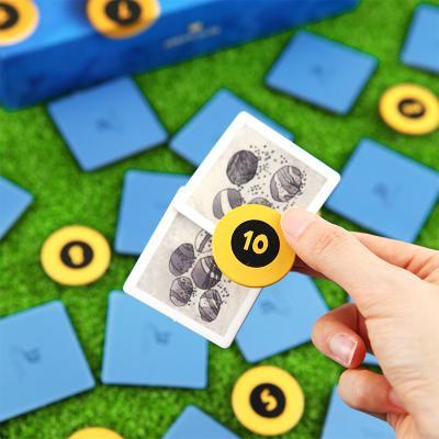 메모리치 메모리게임/ 8세이상 2-5인 기억력 덧셈