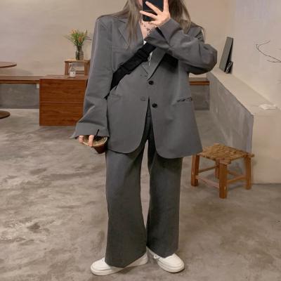 여성 여자 가을 자켓 재킷 데일리 온우 루즈핏