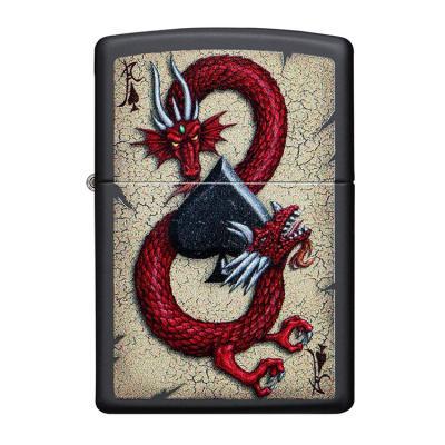 ZIPPO 라이터 29840 Dragon Ace Design
