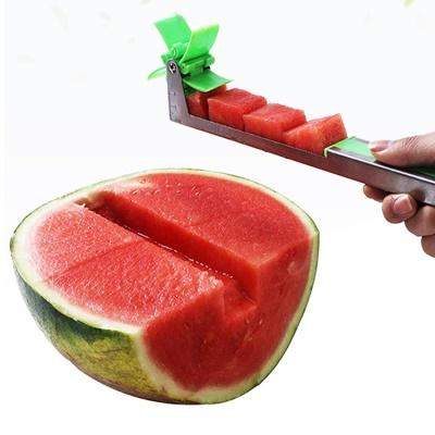 수박커터 깍두기 큐브 슬라이서