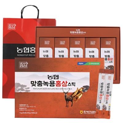 내몸애 맞춤 녹용홍삼(스틱) 13gx30포