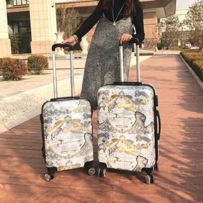 출장 여성 여행용 24형 화물용 PC+ABS 여행하드캐리어