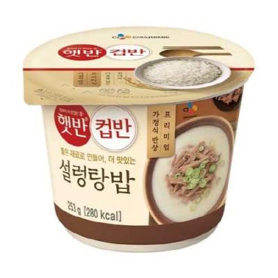 [CJ제일제당] 설렁탕밥 253gx10개