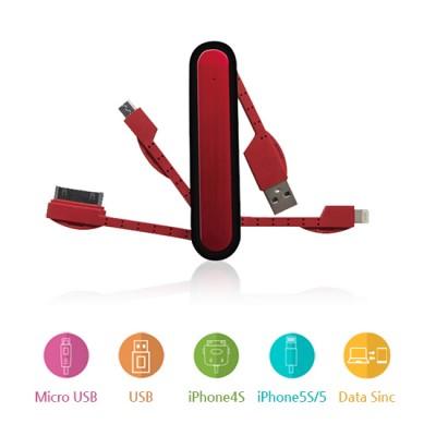 간편한 멀티 USB 데이터 케이블 / 충전 및 데이터 전송