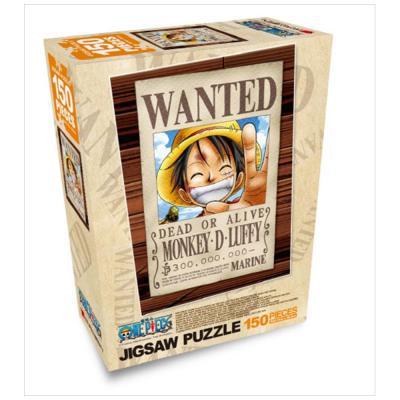 원피스 직소퍼즐 150pcs: Wanted 루피