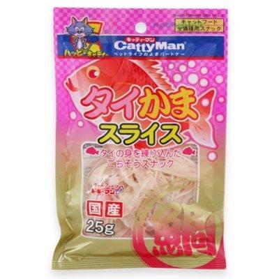 캐티맨 도미맛살 25G 고양이간식