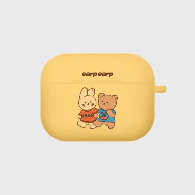 nini friends-yellow(Air pods pro case)