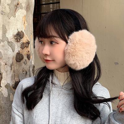 라솜 여성 겨울 페이크 퍼 귀마개