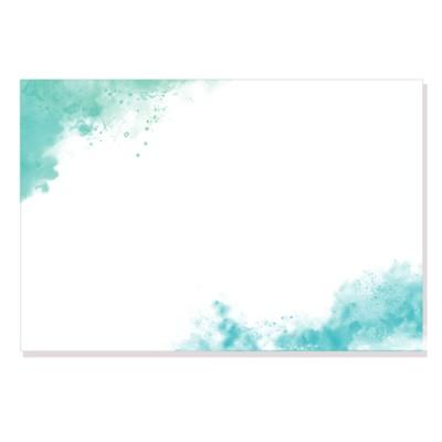 캘리그림엽서-블루그라운드(10장)