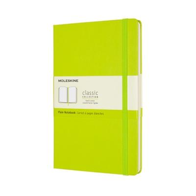 몰스킨 클래식노트-플레인/레몬 그린-하드 L