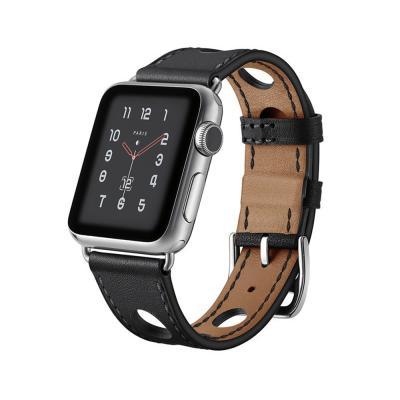 애플워치밴드 1 2 3 4 5 스트랩 시계줄 가죽 펀칭