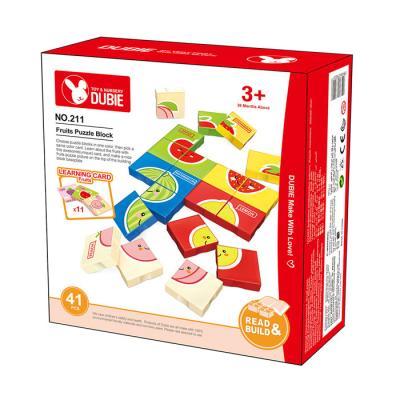 맥킨더 블럭 과일 퍼즐 41pcs
