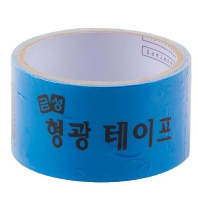 [금성케이엔티] 형광테이프50X2 (파랑) [개/1] 146351