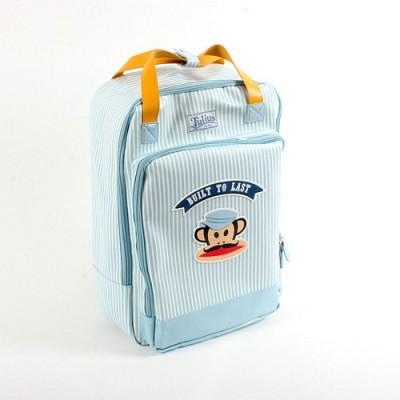폴프랭크 (Paulfrank) 멀티 백팩 13PF-BP03 블루 스트라이프 / 카메라가방