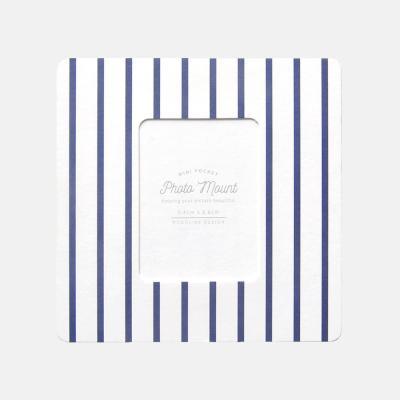 포토마운트 - 미니 마린 네이비 버티컬 5매